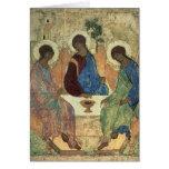 La trinidad santa, 1420s felicitación