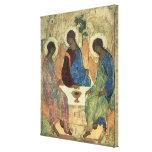 La trinidad santa, 1420s lienzo envuelto para galerías