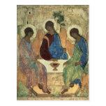 La trinidad santa, 1420s postal