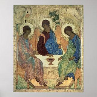 La trinidad santa, 1420s póster