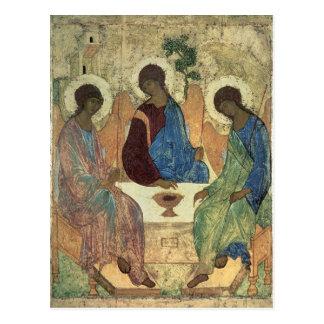 La trinidad santa, 1420s tarjeta postal
