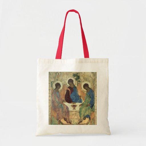 La trinidad santa, 1420s (tempera en el panel) bolsa de mano