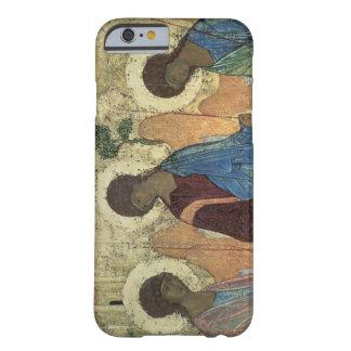 La trinidad santa, 1420s (tempera en el panel) funda de iPhone 6 barely there