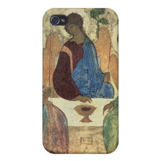 La trinidad santa, 1420s (tempera en el panel) iPhone 4 carcasas