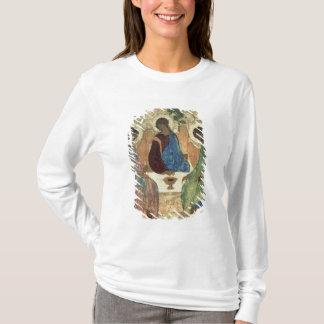 La trinidad santa, 1420s (tempera en el panel) playera