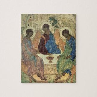 La trinidad santa, 1420s (tempera en el panel) puzzle