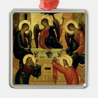 La trinidad santa, escuela de Novgorod, siglo XV Ornamento De Navidad