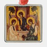 La trinidad santa ornamento de navidad