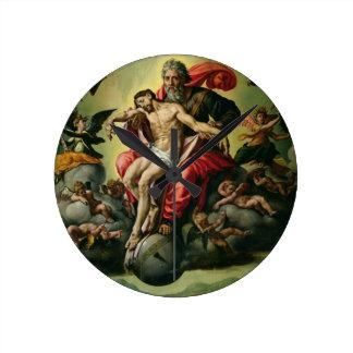 La trinidad santa relojes de pared