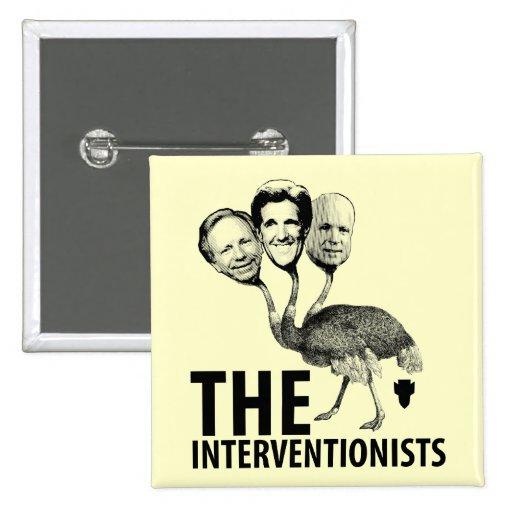 La troika del intervencionista pin