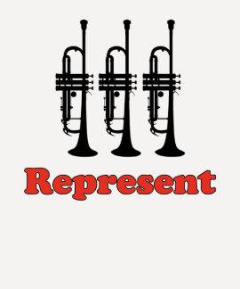 La trompeta representa camiseta