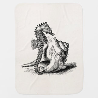 La trompeta Shell del caballo de mar del Seahorse Manta De Bebé