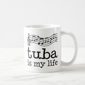 La tuba es mi vida taza