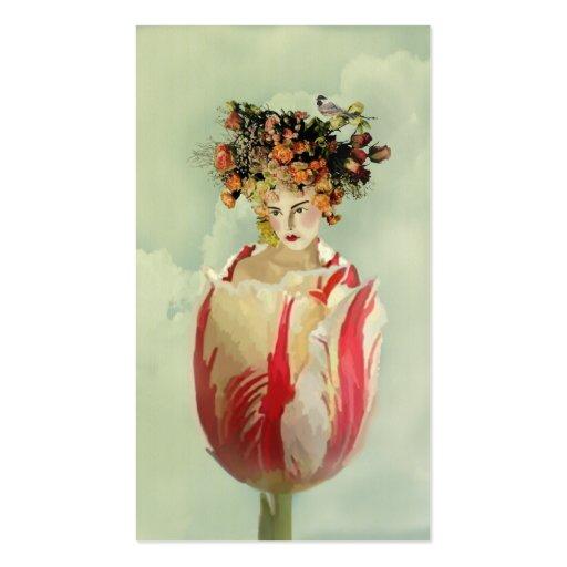 La Tulipe Business Card Templates