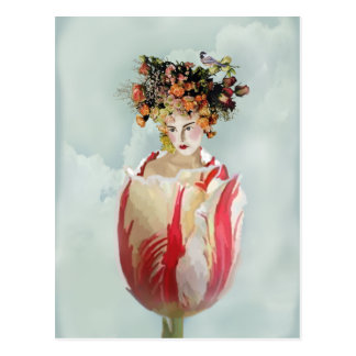La Tulipe Postcard