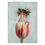 La Tulipe Thank you Greeting Card