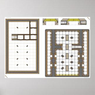 La tumba de César mapa secundario del juego Impresiones