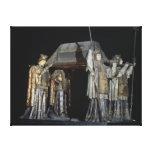La tumba de Cristóbal Colón Impresión En Tela