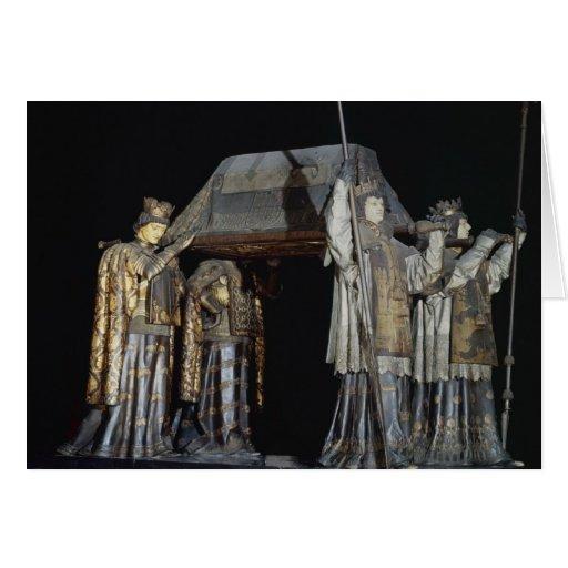 La tumba de Cristóbal Colón Tarjeta