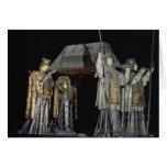 La tumba de Cristóbal Colón Tarjeta De Felicitación