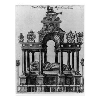 La tumba de Elizabeth I, 1620 Postales