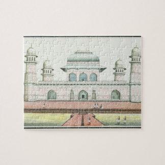 La tumba de Itimad-Ud-Daula cerca de Agra c 1830 Rompecabeza