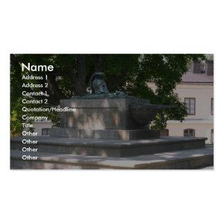 La tumba de los arquitectos en Suomenlinna en Hels Tarjeta De Visita