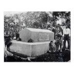 La tumba de Tusitala Tarjetas Postales