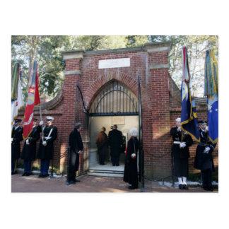 La tumba de Washington de la visita de George W. y Tarjetas Postales