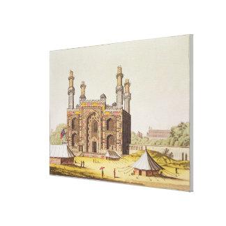 La tumba del emperador Akbar de Mughal, de 'Le Lec Lona Estirada Galerías