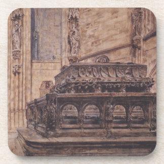La tumba del emperador Frederick III en el Posavasos De Bebidas