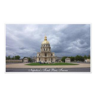 La tumba París Francia de Napoleon de la impresión Fotografías