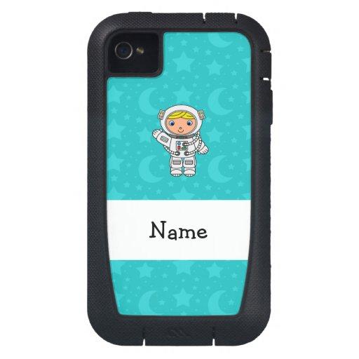 La turquesa conocida personalizada del astronauta