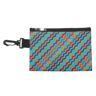 La turquesa raya color de los diseños geométricos