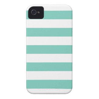 La turquesa raya la caja del iPhone 4/4s del model Case-Mate iPhone 4 Cárcasas
