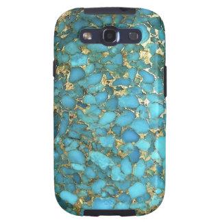 """La """"turquesa Samsung llama por teléfono al caso """" Galaxy SIII Carcasa"""