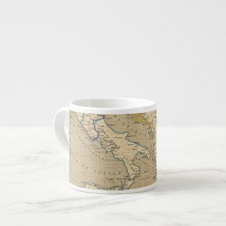 La Turquie, la Grece y l'Italie de 1700 un 1840 Taza Espresso