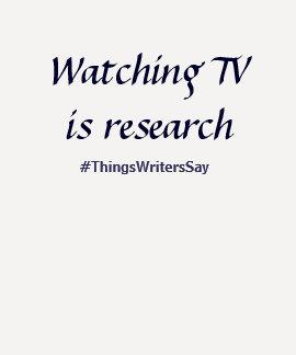 La TV de observación es investigación Polera