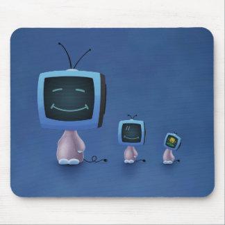 La TV dirige (el color 2) Mouse Pad