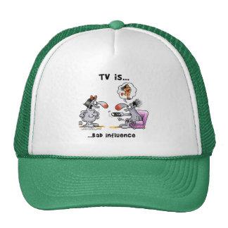 La TV es… Mala influencia Gorros