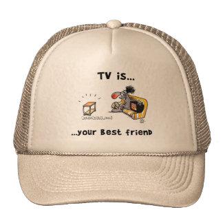 La TV es… Su mejor amigo Gorro