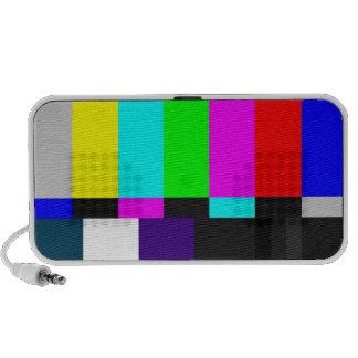La TV prueba el altavoz del Doodle de la pantalla
