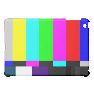 La TV prueba el caso del iPad de la pantalla