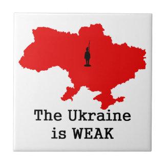 La Ucrania es débil Tejas