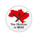 La Ucrania es débil Relojes