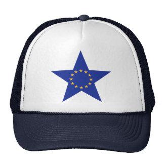 La UE de Europa protagoniza la bandera Gorras De Camionero