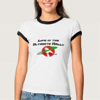 La última camiseta de la reunión playera