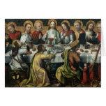 La última cena, 1482 tarjetas