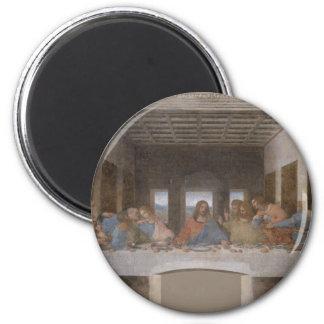 La última cena (1495-1498) imanes