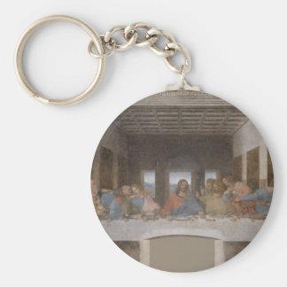 La última cena (1495-1498) llavero redondo tipo pin